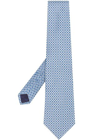Salvatore Ferragamo Men Neckties - 2000s elephant print tie