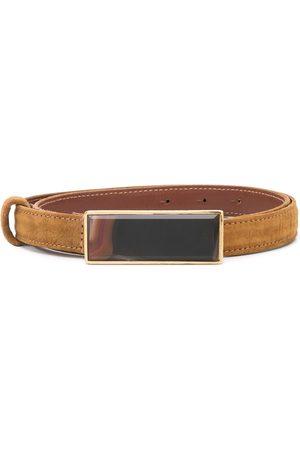 Gianfranco Ferré 1990s gemstone buckle belt