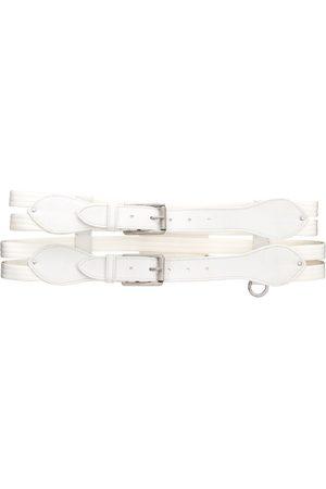 Gianfranco Ferré Women Belts - 2000s double strap belt