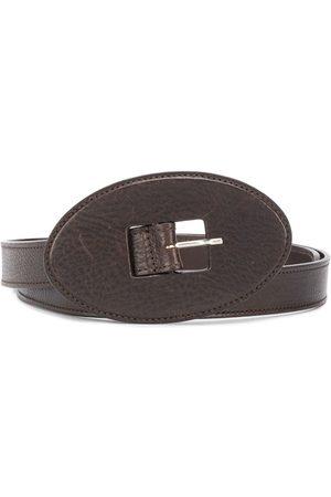 Gianfranco Ferré Women Belts - 2000s oval buckle belt