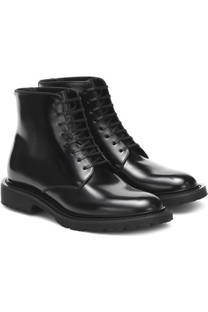 Saint Laurent Army leather ankle boots