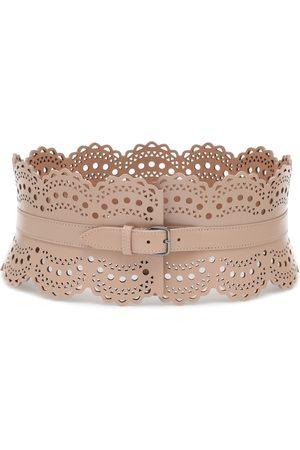 Alaïa Leather corset belt