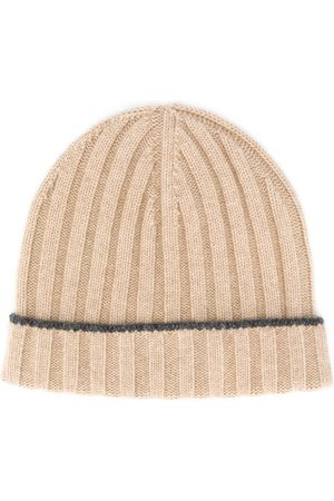 Brunello Cucinelli Ribbed knit beanie