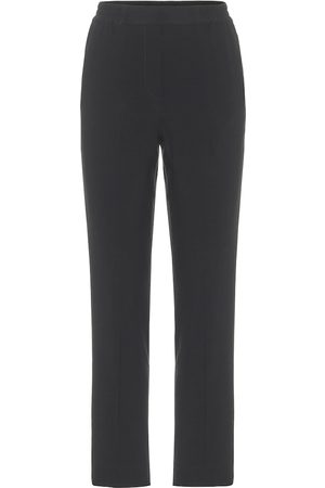Etro High-rise slim-fit pants