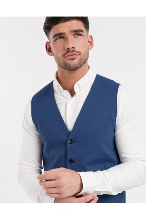 Selected Slim fit stretch waistcoat in