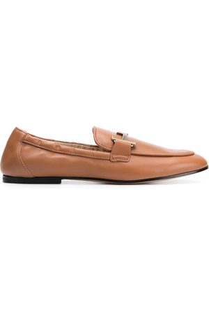 Tod's Women Loafers - Double-T leather loafers