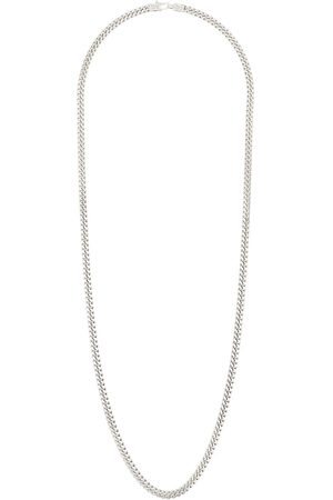 TOM WOOD Sterling silver long curb chain necklace