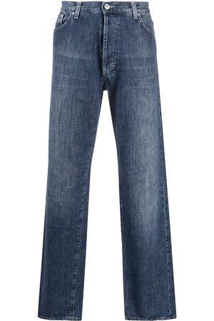 VERSACE 1990s straight-leg jeans