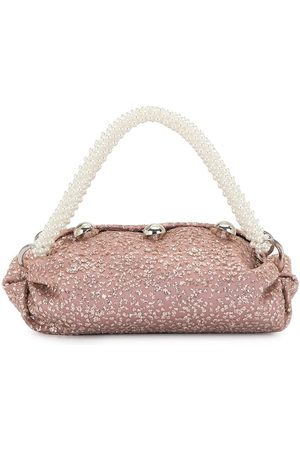 0711 Nino sparkly bronze small tote bag