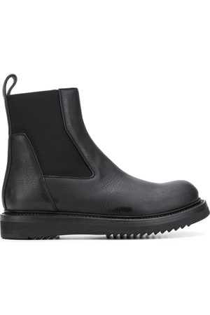 Rick Owens Round toe elasticated boots