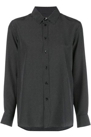 Saint Laurent Polka dot silk shirt