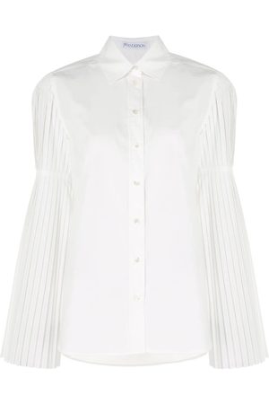 J.W.Anderson Pleated sleeve shirt