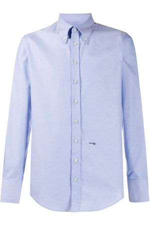 Dsquared2 Logo embroidered shirt