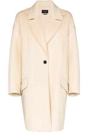 Isabel Marant Dropped shoulder wool cocoon coat