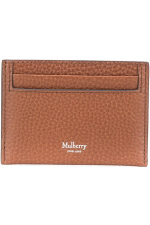 MULBERRY Credit Card Slip Grain Veg Tanned