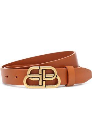 Balenciaga BB leather belt