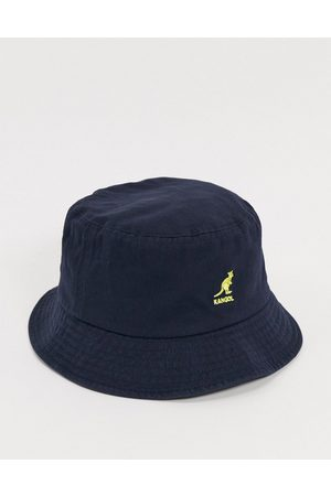 Kangol Washed bucket hat in navy