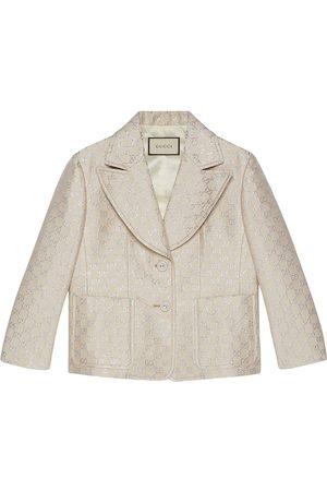 Gucci GG jacquard-woven blazer