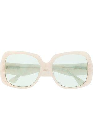 George Keburia Oversized square frame sunglasses