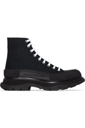 Alexander McQueen Lace-up combat boots