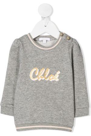 Chloé Logo print jumper