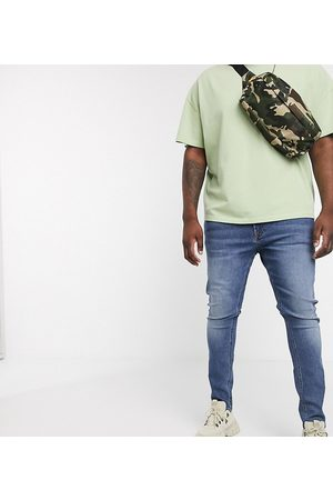 COLLUSION Men Skinny - Plus skinny jean in mid