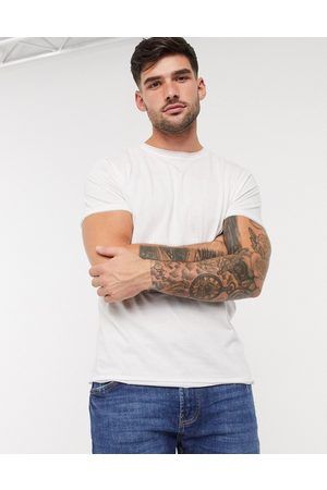 Brave Soul Raw edge t-shirt in