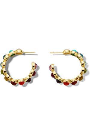 Ippolita 18k Lollipop all-stone hoop earrings