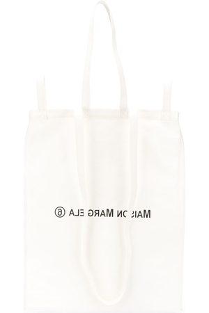 MM6 MAISON MARGIELA Six-handle logo print tote bag