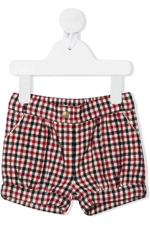 Chloé Check print shorts