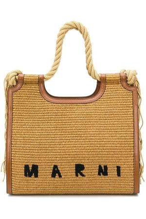 Marni Women Handbags - North South raffia tote bag