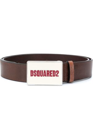 Dsquared2 Men Belts - Logo-buckle belt