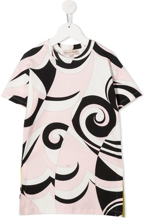 Emilio Pucci Abstract print short sleeve dress