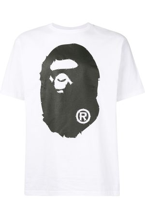 A BATHING APE® Logo print T-shirt