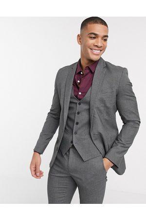 New Look Skinny suit jacket in dark
