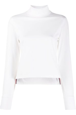 Thom Browne Long sleeve turtle neck in light weight jersey