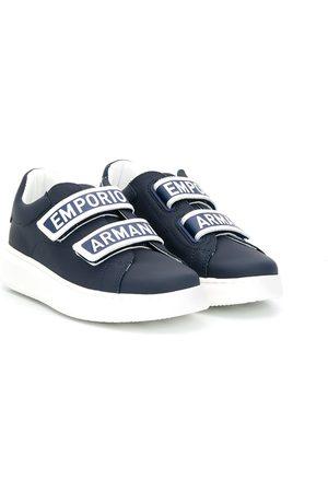 Emporio Armani Logo strap low-top sneakers