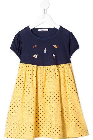 Familiar Polka dot print dress