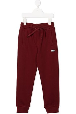 Emporio Armani Logo patch track trousers