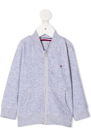 Tommy Hilfiger Embroidered zipped bomber jacket