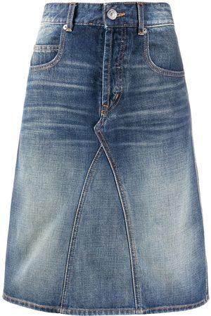 Isabel Marant A-line denim skirt