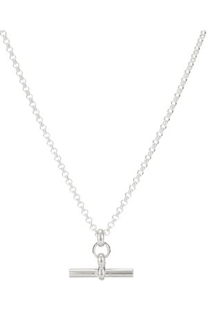Tilly Sveaas Small T-Bar necklace