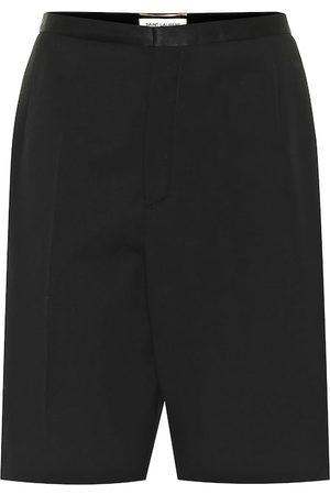 Saint Laurent Virgin wool Bermuda shorts