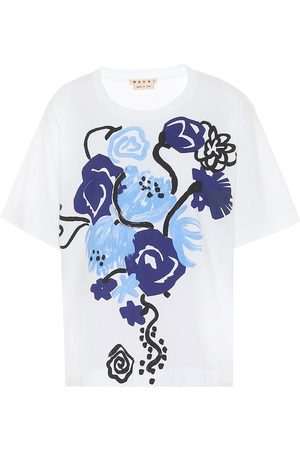 Marni Floral cotton T-shirt