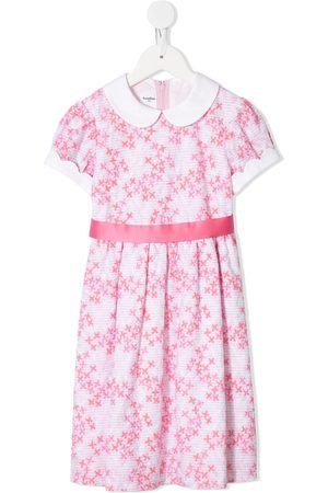 Familiar Girls Casual Dresses - Floral embroidered dress