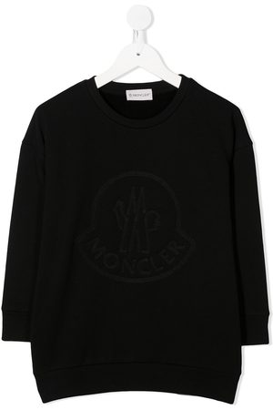 Moncler Embroidered logo sweater dress