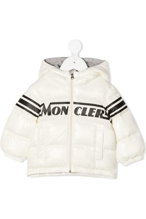 Moncler Goose-down hooded jacket