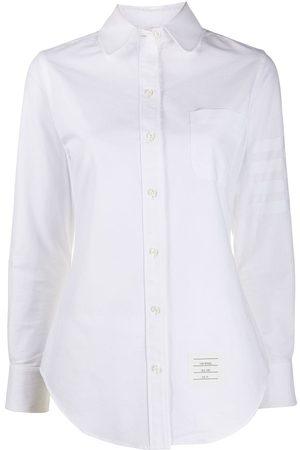 Thom Browne Round collar oxford shirt