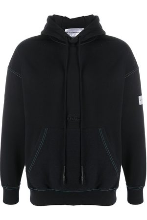 PACE Embroidered logo drawstring hoodie