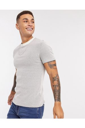 ASOS T-shirt in waffle in